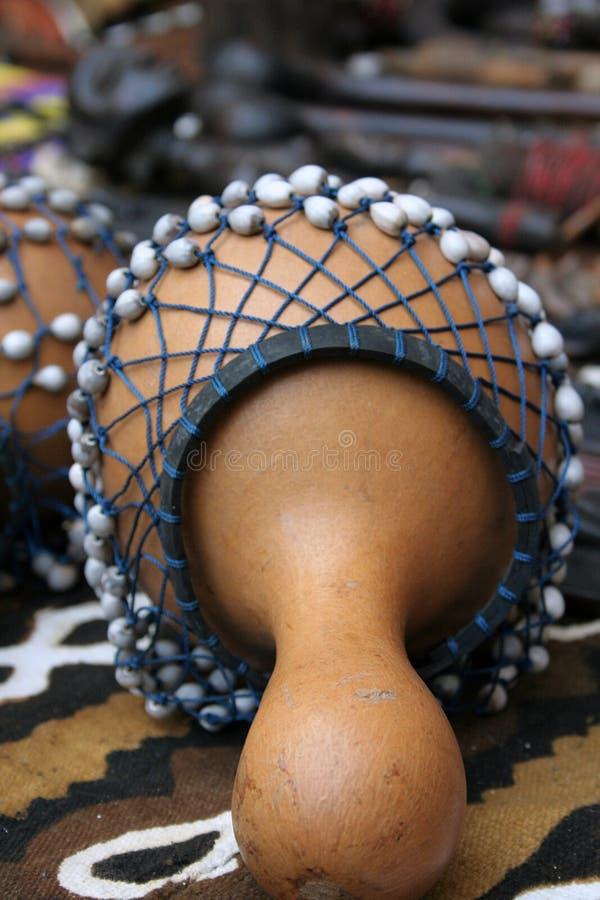Afrikanisches Instrument (Shekeres) lizenzfreies stockbild