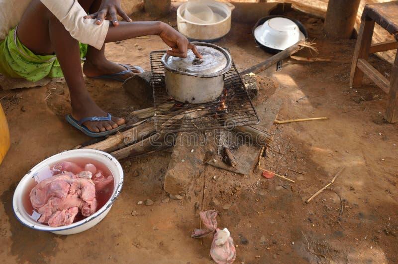 Afrikanisches Kind stockfotografie