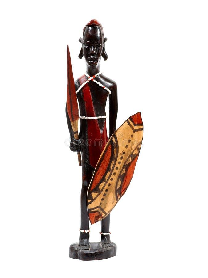 Afrikanisches Schnitzen stockbild