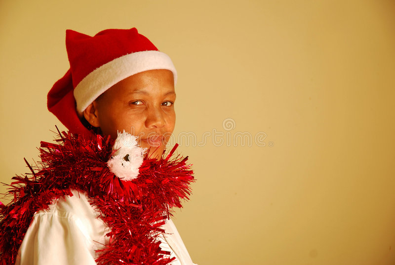 Afrikanisches Weihnachten lizenzfreies stockfoto