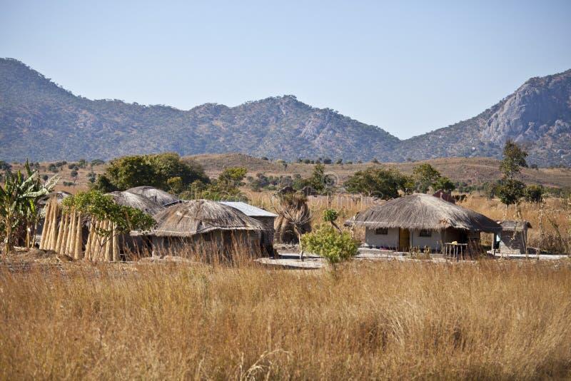 afrikansk by royaltyfria bilder
