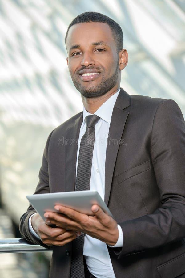 afrikansk affärsman arkivfoton