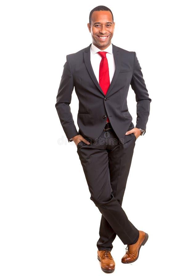afrikansk affärsman royaltyfri foto