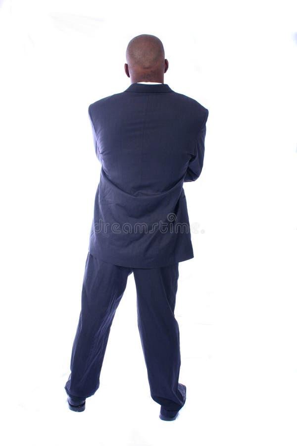 afrikansk amerikanaffärsman royaltyfri bild