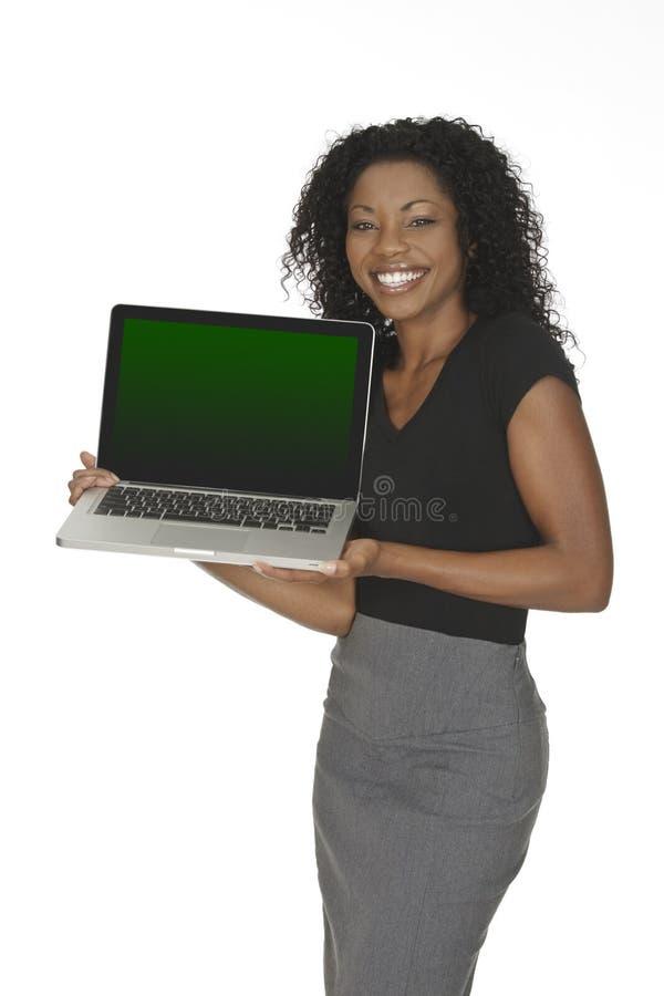 afrikansk amerikankvinna arkivbild