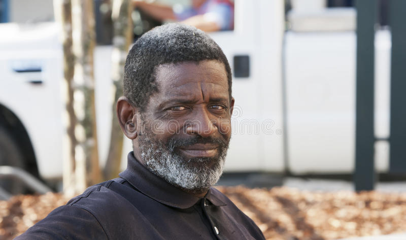 afrikansk amerikanman royaltyfria foton