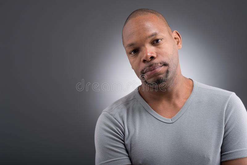 Afrikansk amerikanman arkivfoton