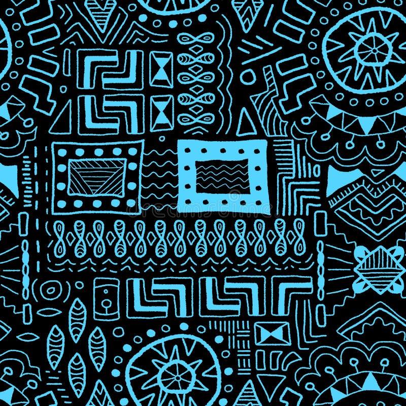 Afrikansk bakgrund royaltyfri illustrationer
