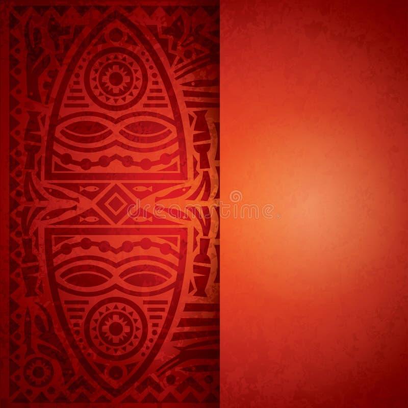 Afrikansk bakgrundsdesign.