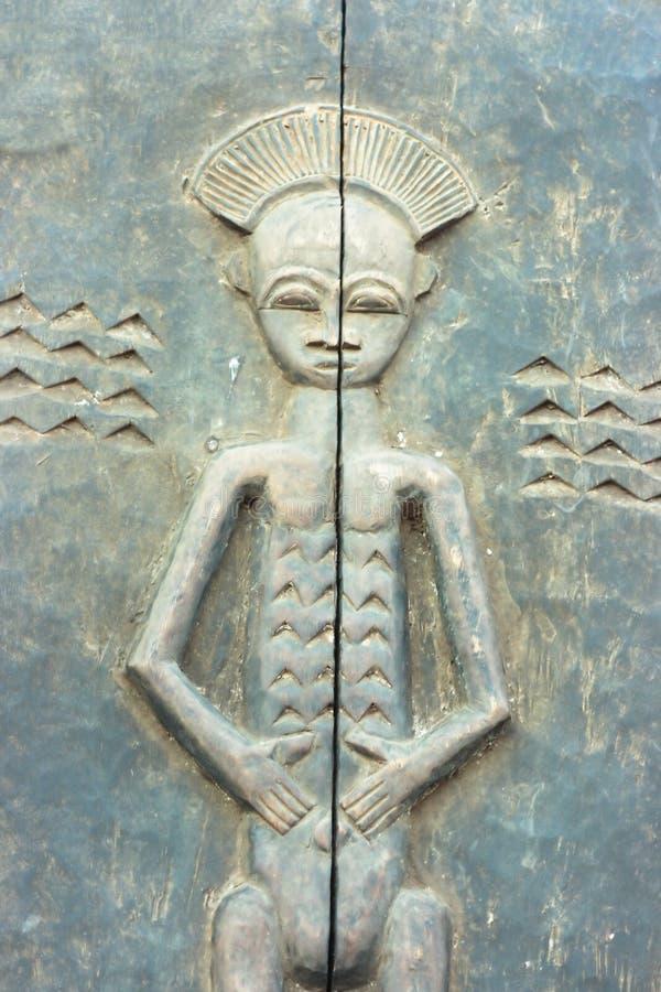 afrikansk baslättnad royaltyfria foton