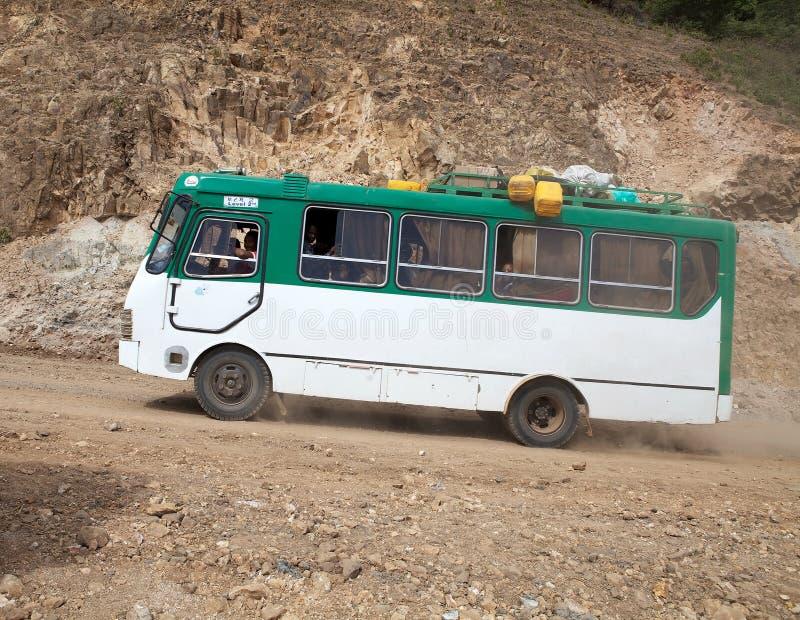Afrikansk buss royaltyfri foto