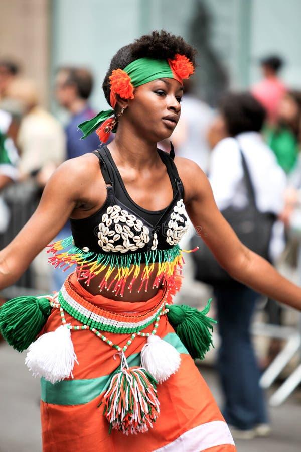 afrikansk dansare arkivfoton