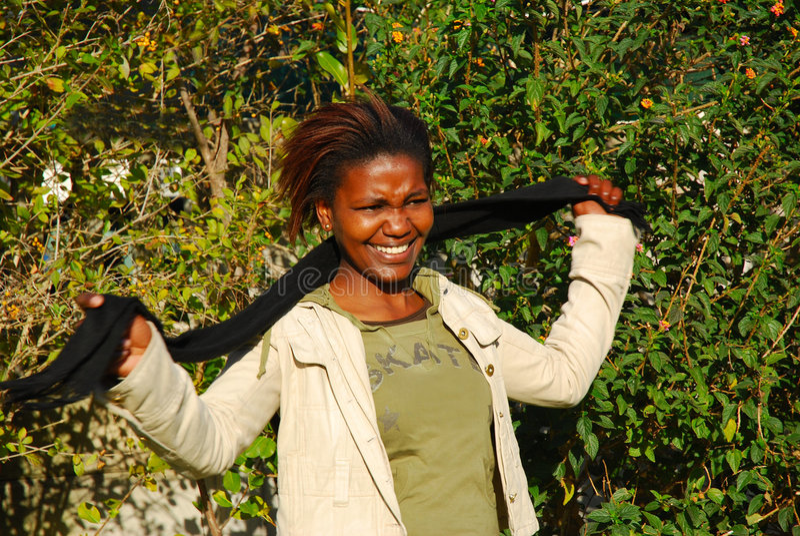 afrikansk deltagare arkivfoton