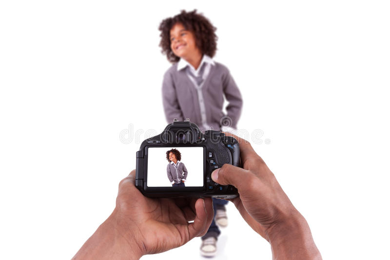 Download Afrikansk Fotograf Som Tar Studiobilder Fotografering för Bildbyråer - Bild av modell, brasilianska: 27275407