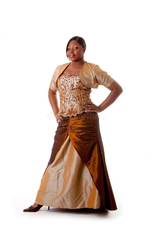 afrikansk härlig kvinna royaltyfria foton