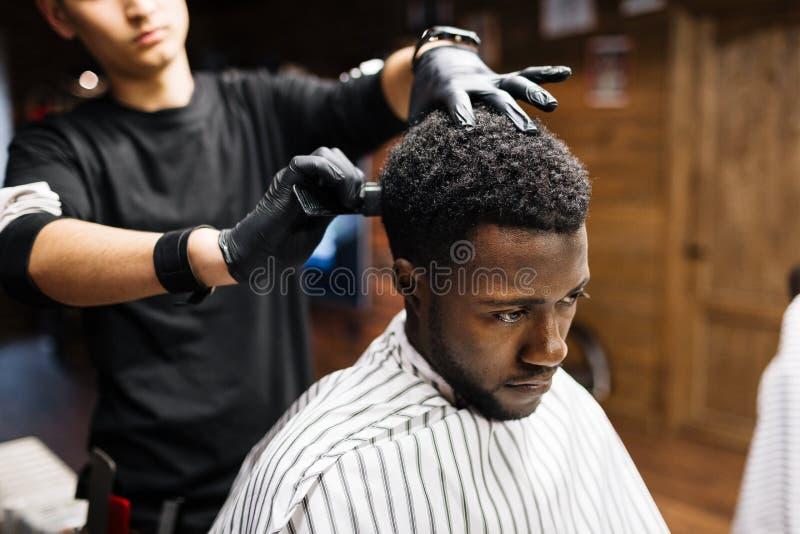 Afrikansk klient royaltyfria foton