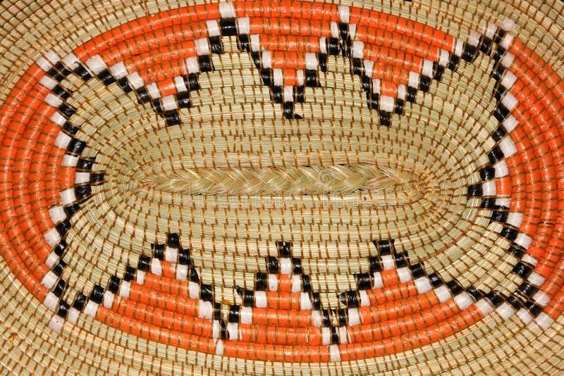 afrikansk korg royaltyfri fotografi