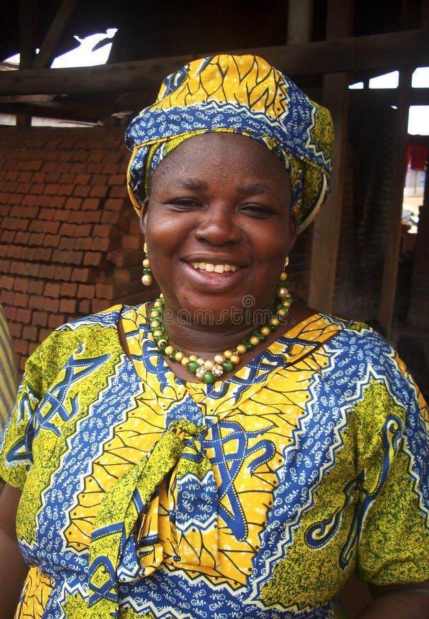 Afrikansk lärare royaltyfri bild