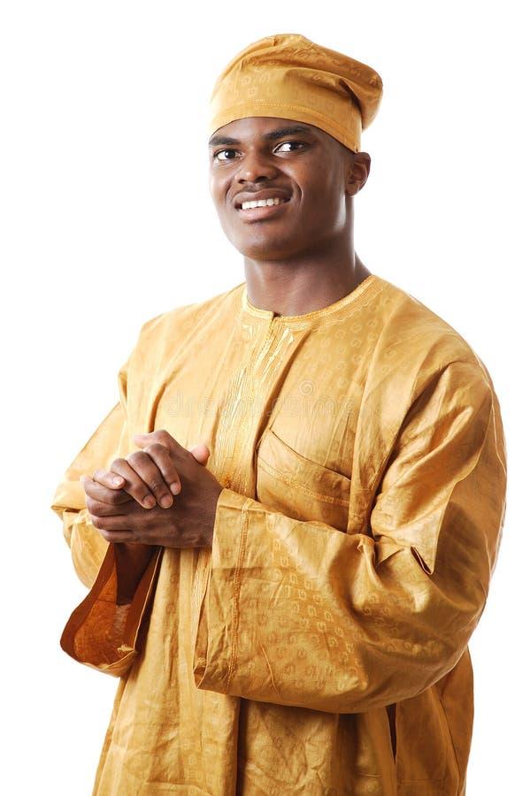 afrikansk man arkivbild