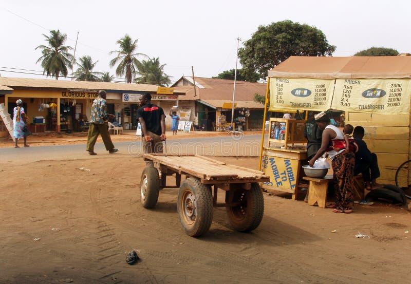 afrikansk marknad royaltyfri bild