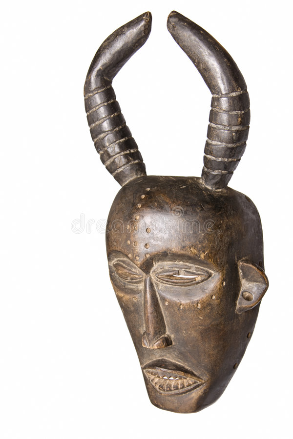 afrikansk maskering royaltyfria foton