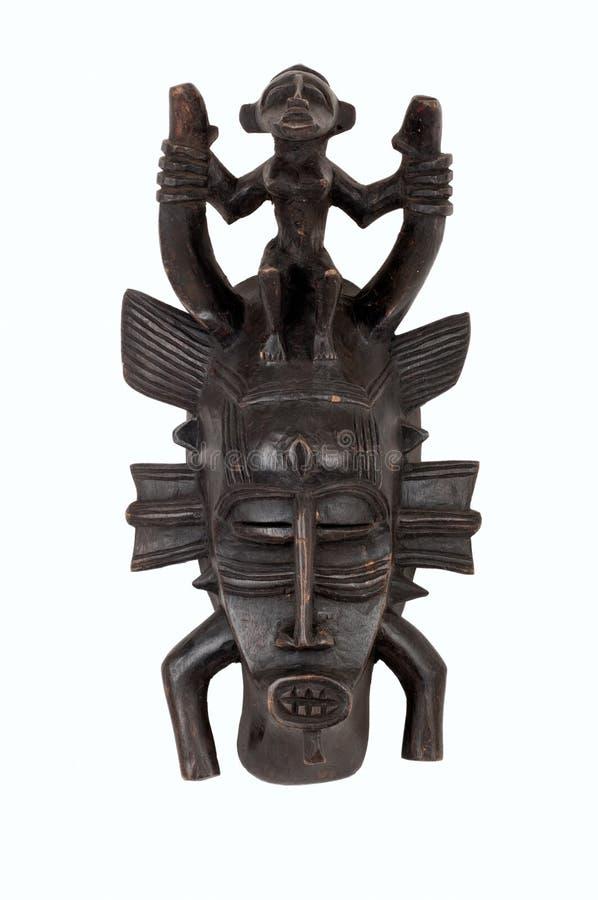 afrikansk maskeringssenufo arkivbild