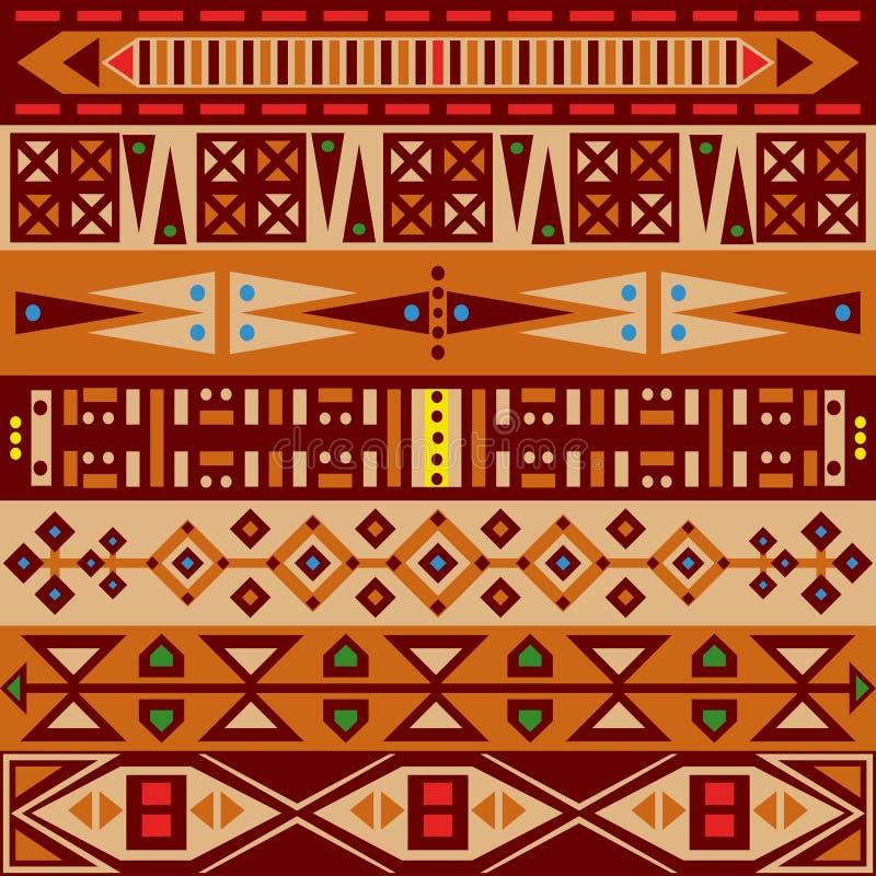 afrikansk modell vektor illustrationer