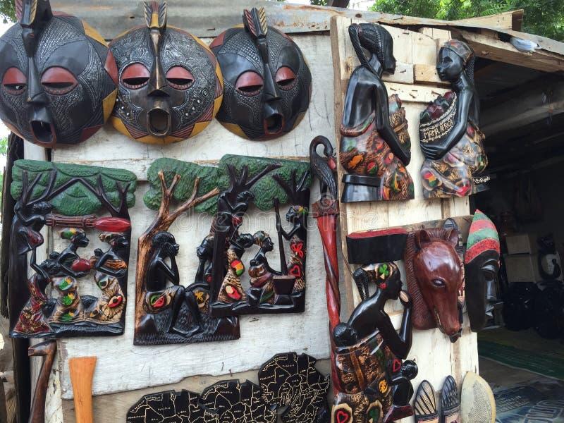 afrikansk skulptur arkivbild