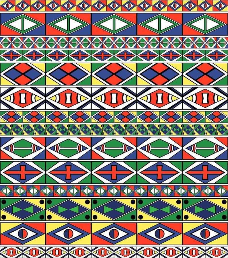 afrikansk stam- konstrammodell s