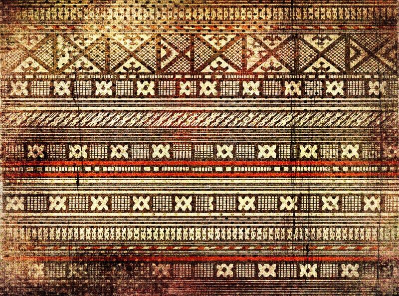 Afrikansk textur royaltyfria foton
