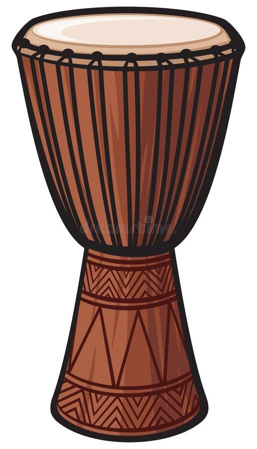 afrikansk vals royaltyfri illustrationer