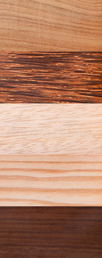 Afrikansk wood textur arkivbilder