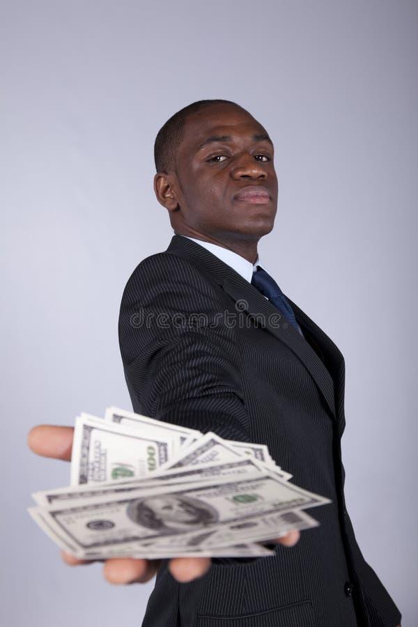 afrikanska affärsmanrich arkivfoton