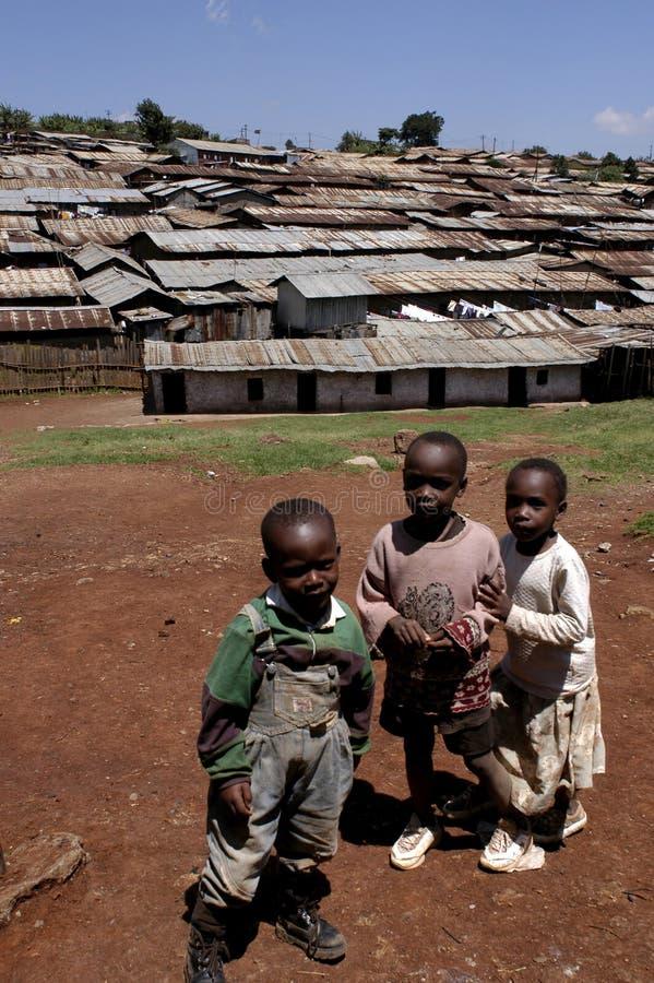 afrikanska barn royaltyfri bild