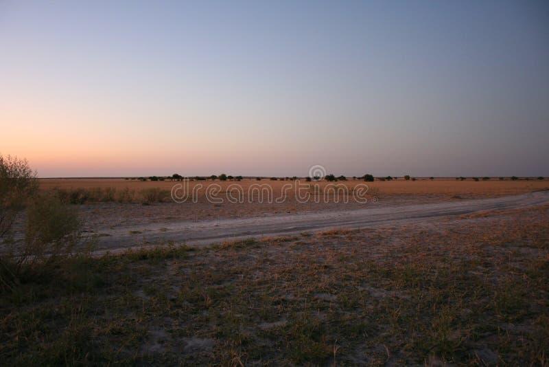 Afrikanska campingplatser royaltyfria bilder