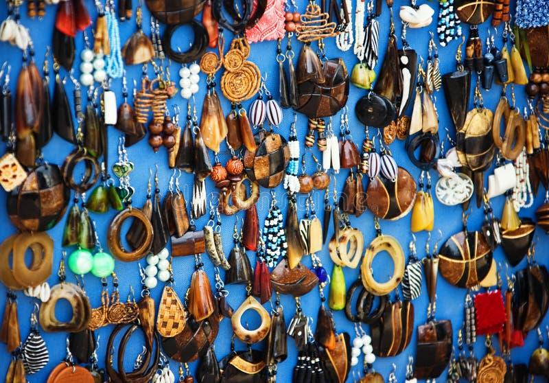 afrikanska smycken arkivbild