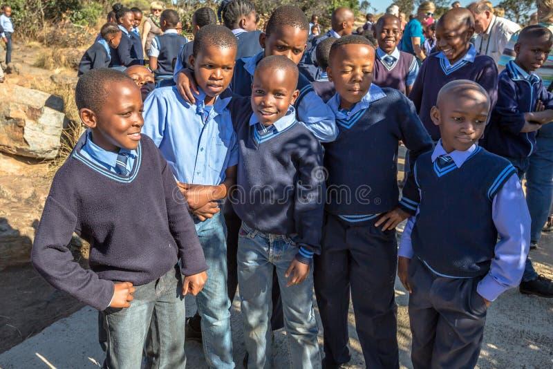 afrikanska ungar royaltyfri foto
