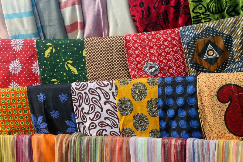 afrikanskt mode arkivfoton