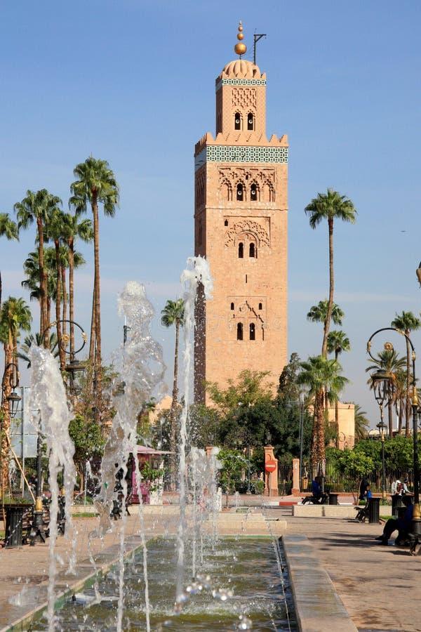 Afrique - Maroc - Marrakech photo libre de droits
