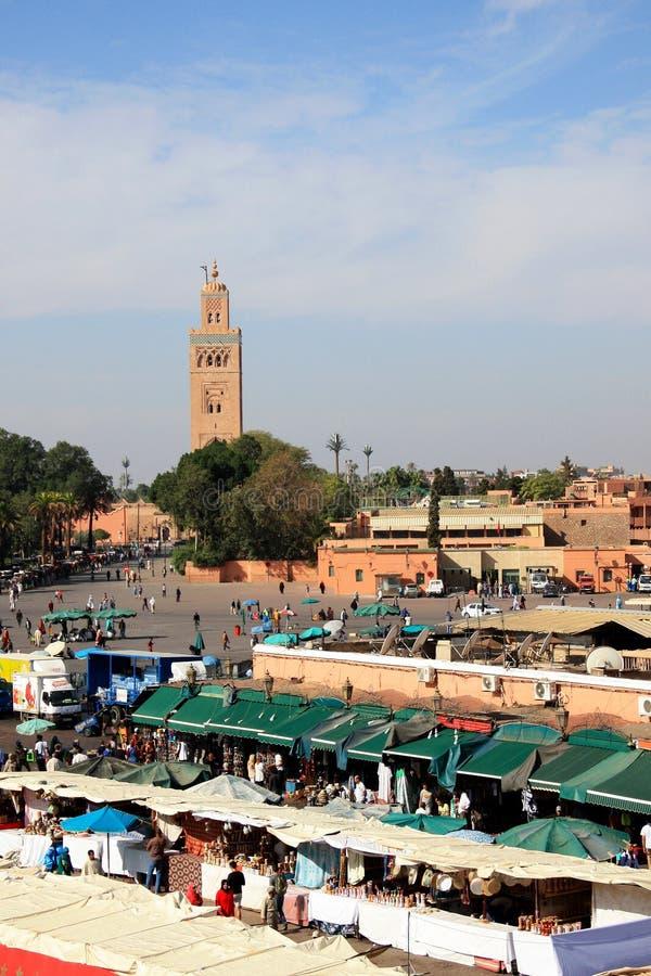 Afrique - Maroc - Marrakesh imagenes de archivo