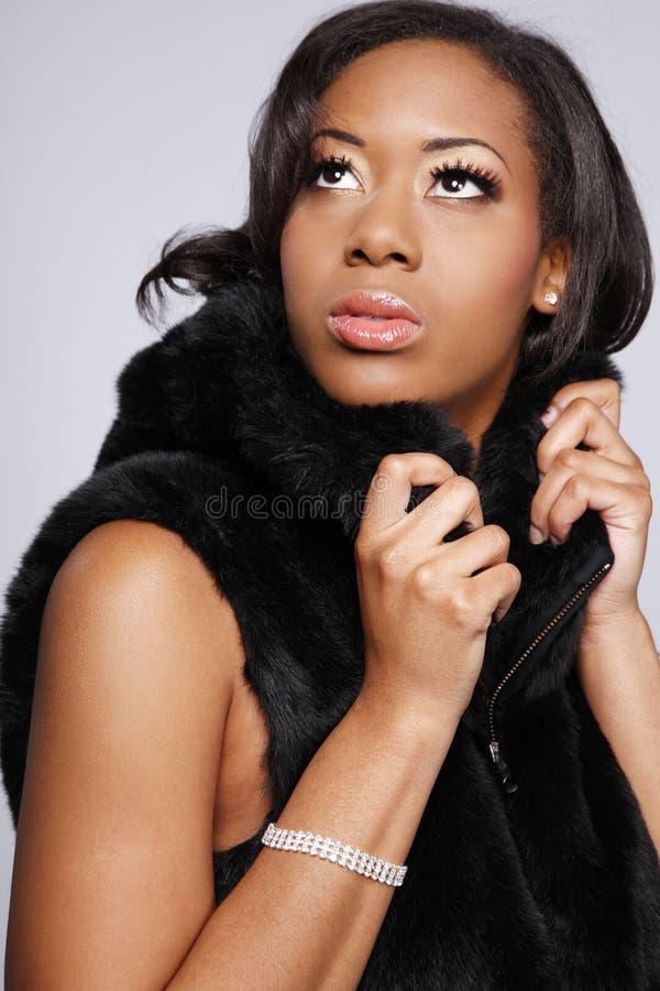 Afro-Américain woman.2. images stock