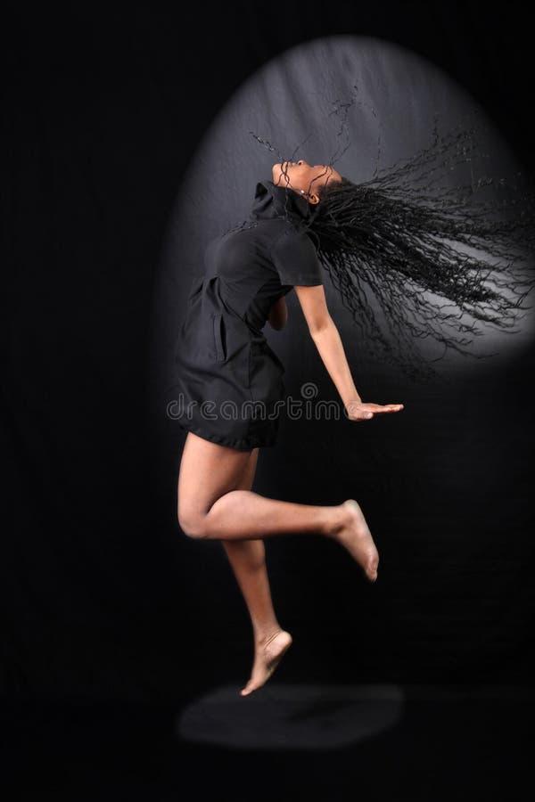 afro american dancer στοκ εικόνα