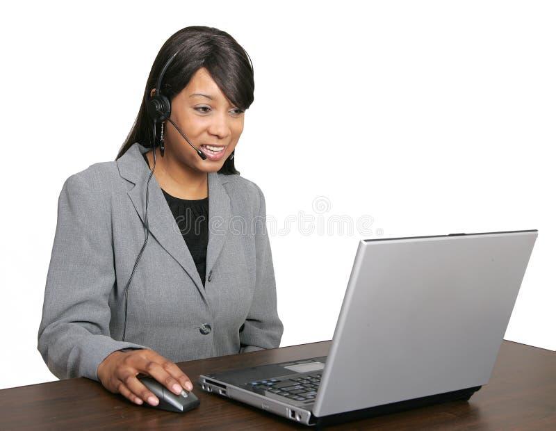 afro - amerykański csr reputację zdjęcie stock