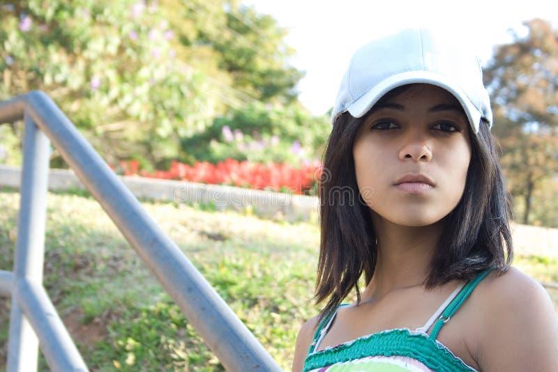 afro - amerykański poważnie nastolatków. obrazy royalty free