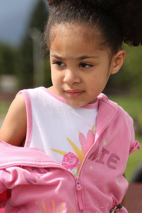 afro - amerykanów dziecko zdjęcia stock