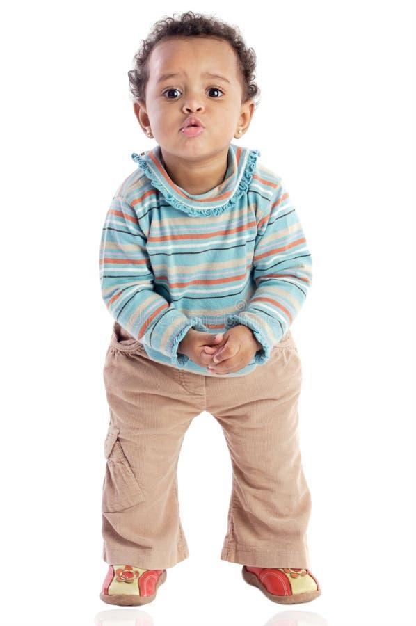 afro - amerykanów dziecko obraz stock