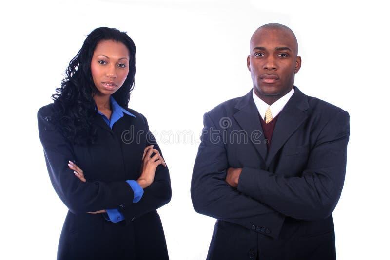 afro - amerykanie przedsiębiorców obrazy stock