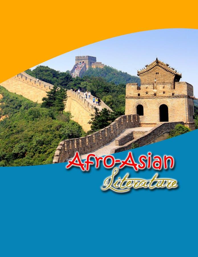 Afro-Asien-Literatur stockfotografie