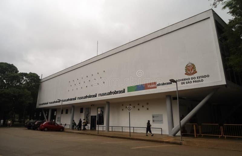 Afro Brésil, musée culturel de Museu de l'ethnie d'Afro-descendant au Brésil image libre de droits