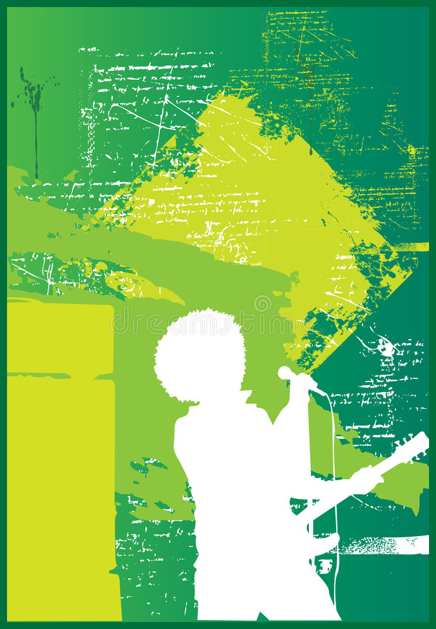 Download Afro Singer stock vector. Image of equipment, performer - 5871919